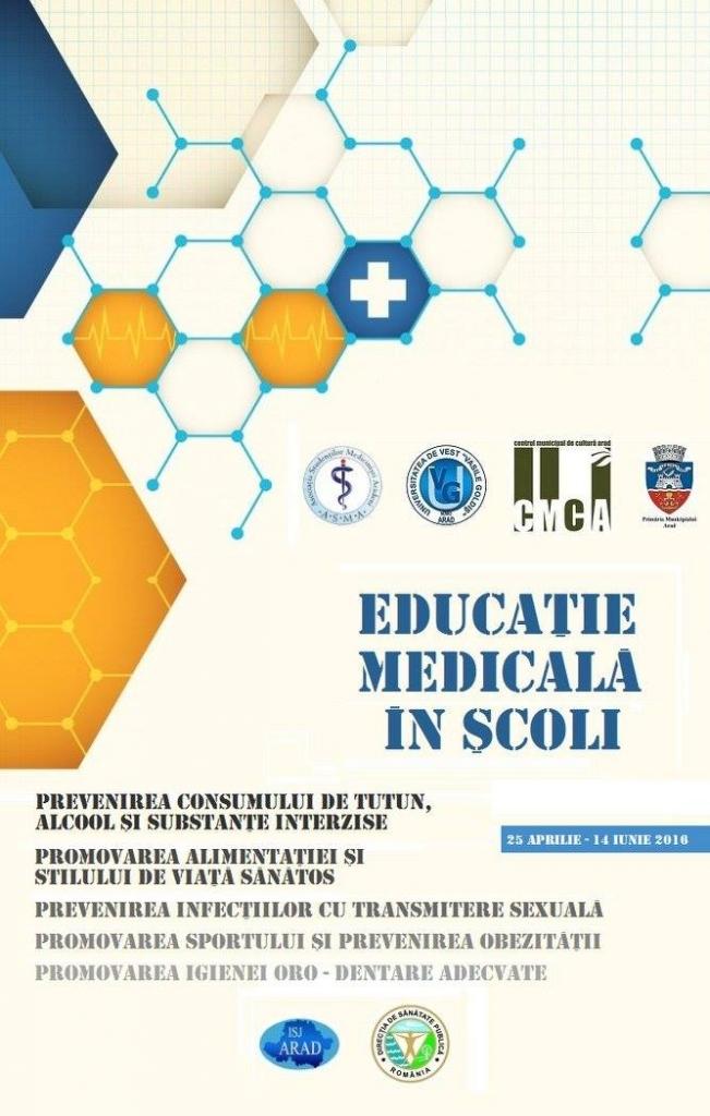 Educatie medicala in scoli