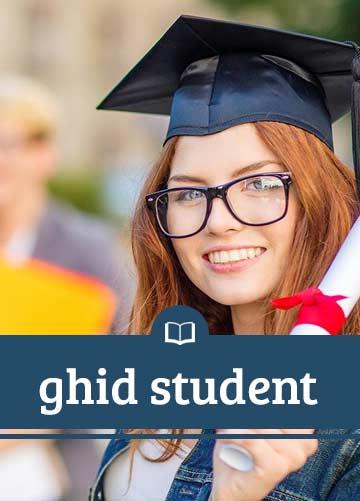 """Ghid student pentru Universitatea de Vest """"Vasile Goldiş"""" din Arad"""