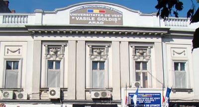 """Universitatea de Vest """"Vasile Goldiş"""" din Arad - Rectorat"""