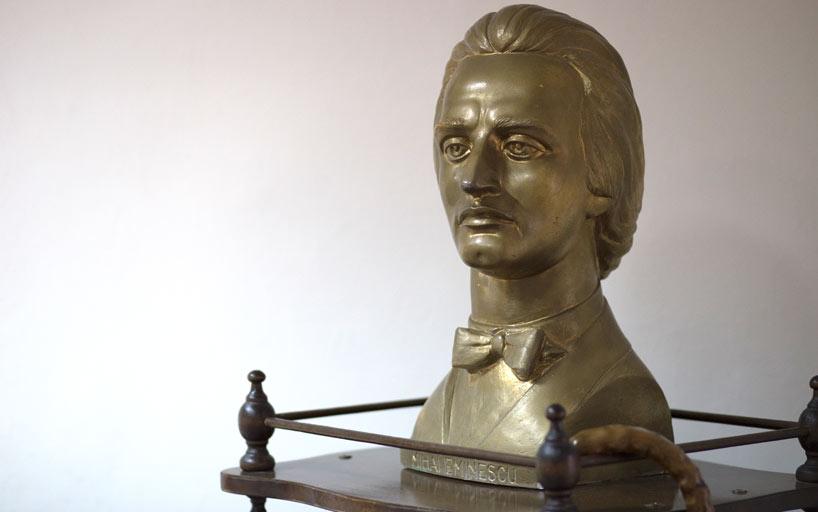 Bust Mihai Eminescu