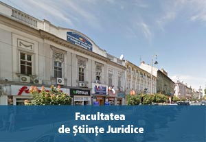 Facultatea de Științe Juridice