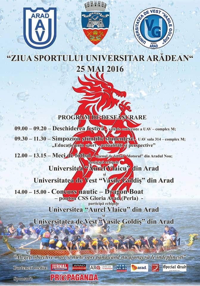ziua sportului universitar aradean
