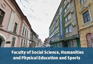 Faculty of Social Science, Humanities and Phisical Education and Sports