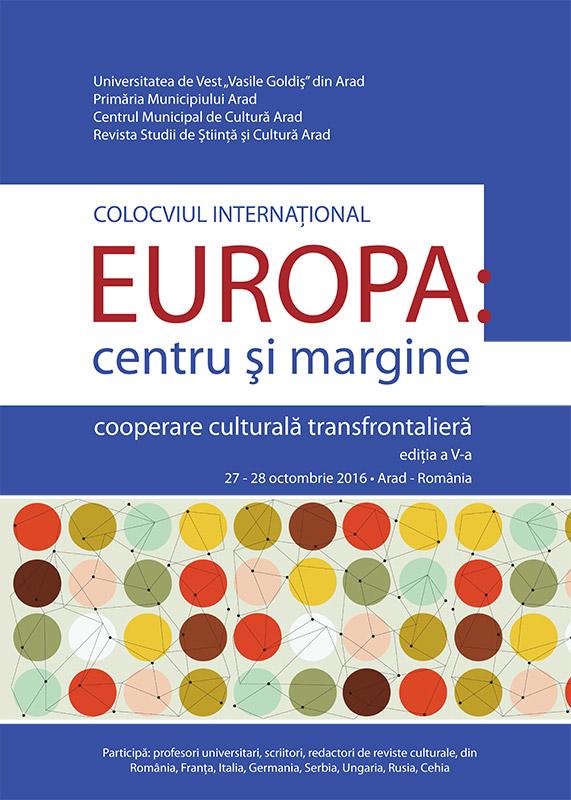 Colocviu International- Europa: centru si margine