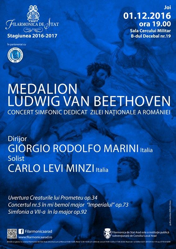 Medalion Ludwig Van Beethoven
