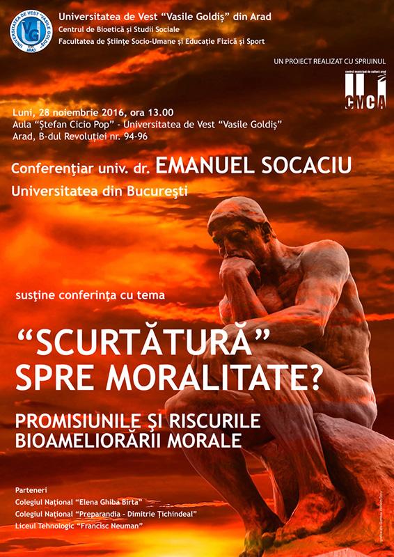 Scurtatura spre moralitate