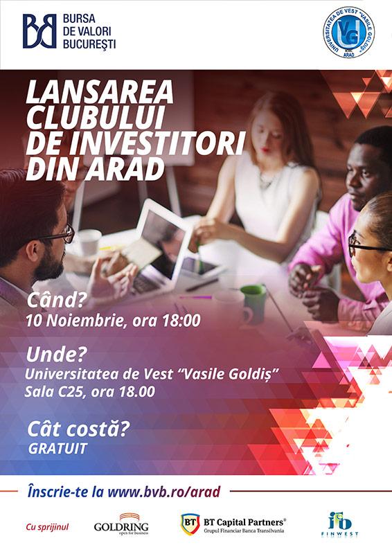 Club Investitori Arad