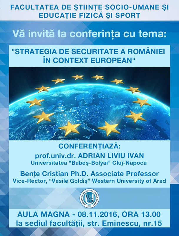 Strategia de securitate a Romaniei in context European