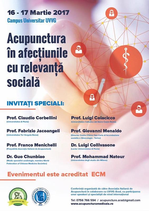 Acupunctura in afectiunile cu relevanta sociala