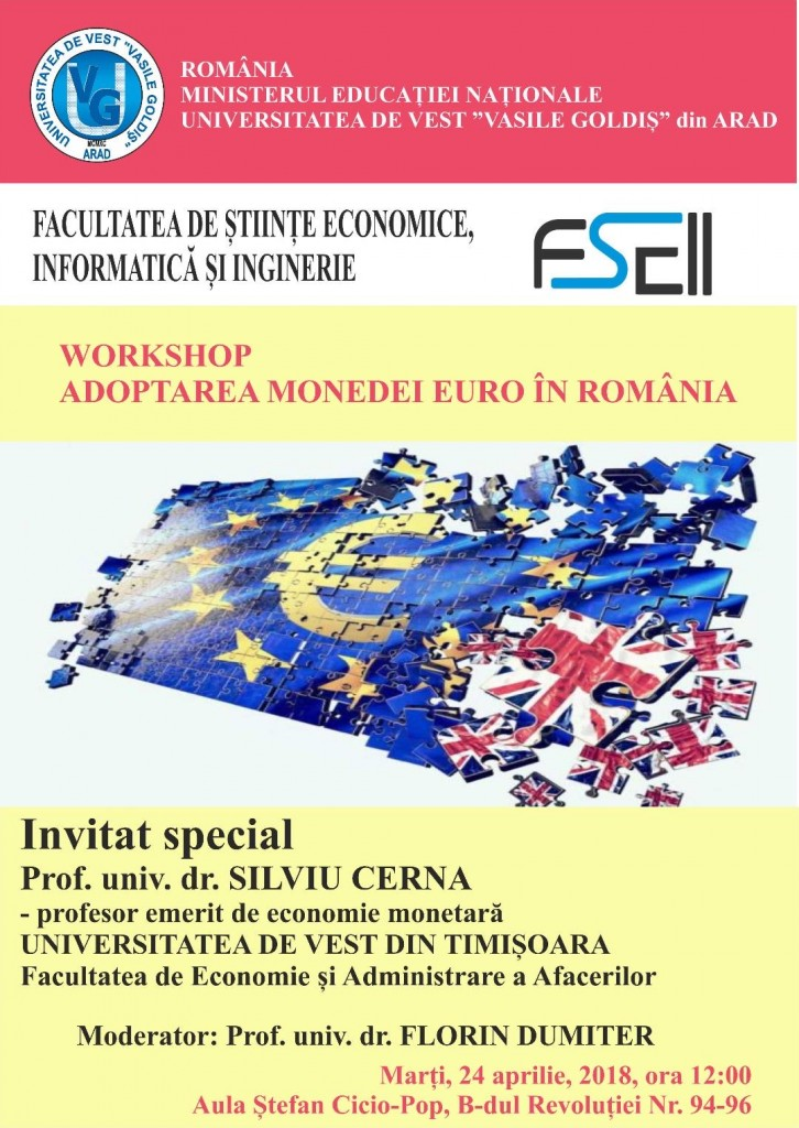 Afiș Workshop Euro