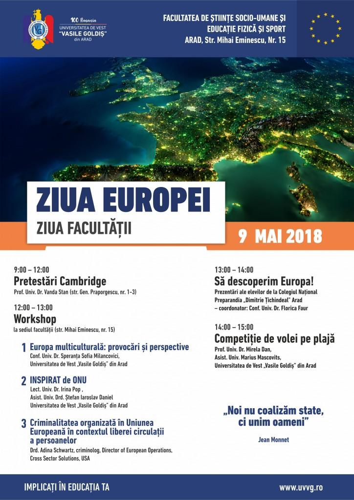 Afis Ziua Europei