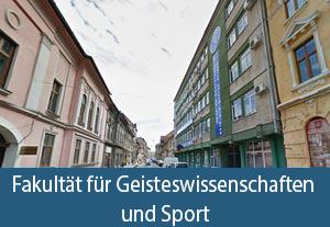 Fakultät für Geisteswissenschaften und Sport